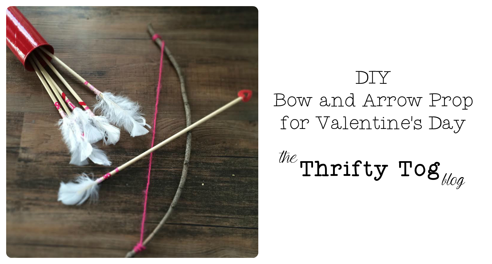 Diy Bow And Arrow Prop For Valentine S Day By Erin Barkel